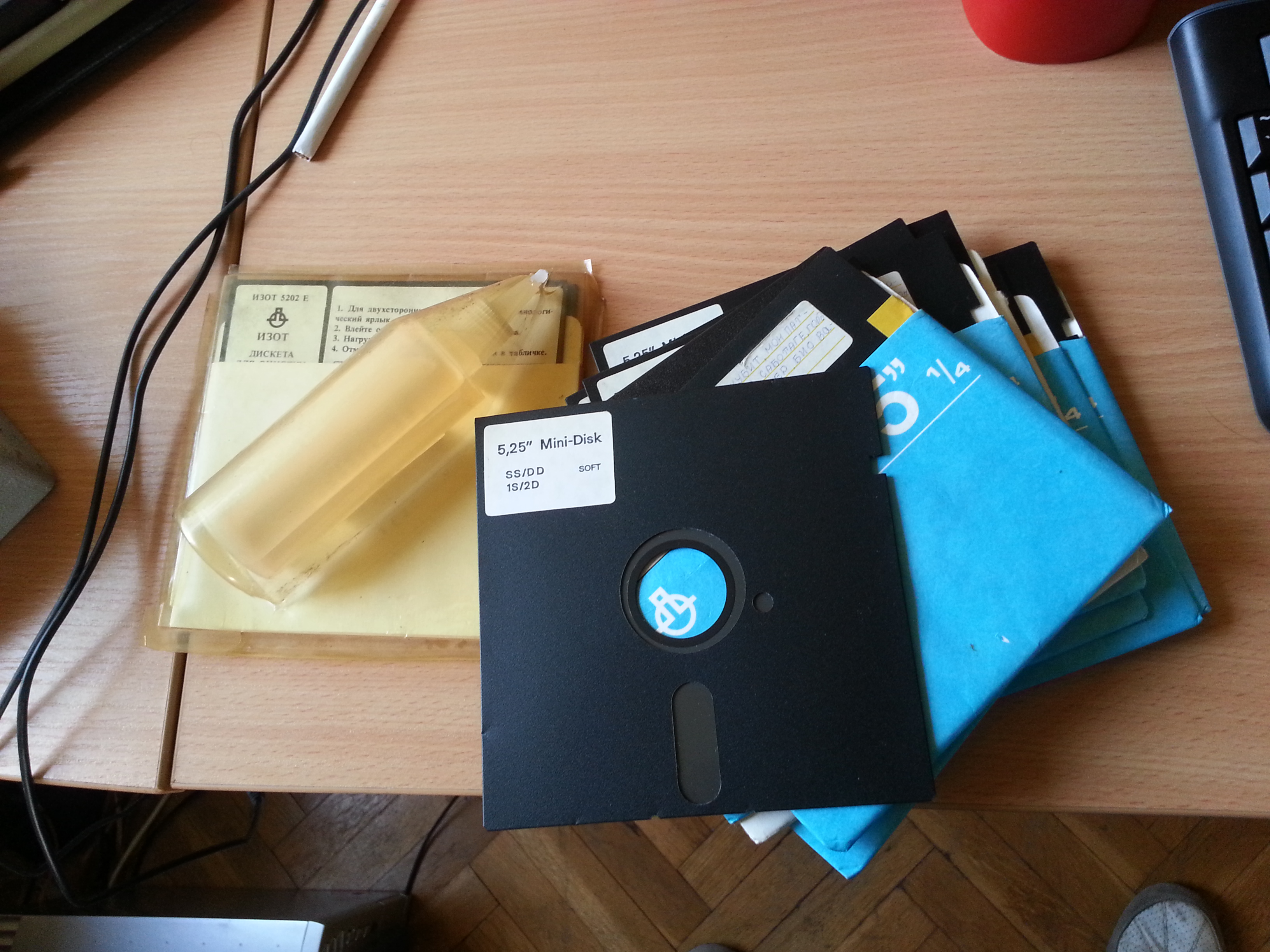 Diskettes for the Pravetz